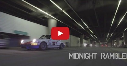 opening screen of Magnus Walker's midngiht rambler video