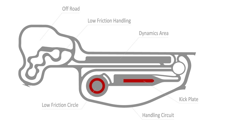 Porsche Experience Center Atlanta Track Map