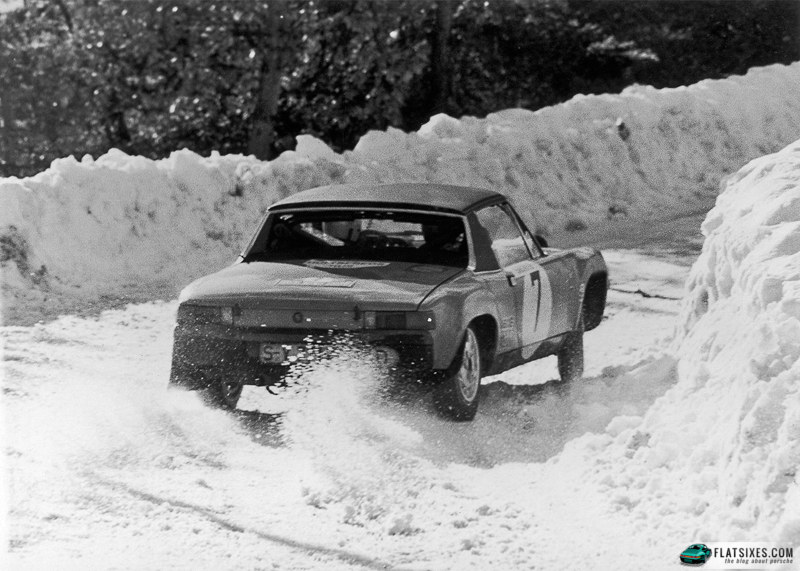 After five straight years of warm conditions that would have favored the handling abilities of the 914/6 GT, the 1971 Monte Carlo Rally was run in the worst weather in decades.