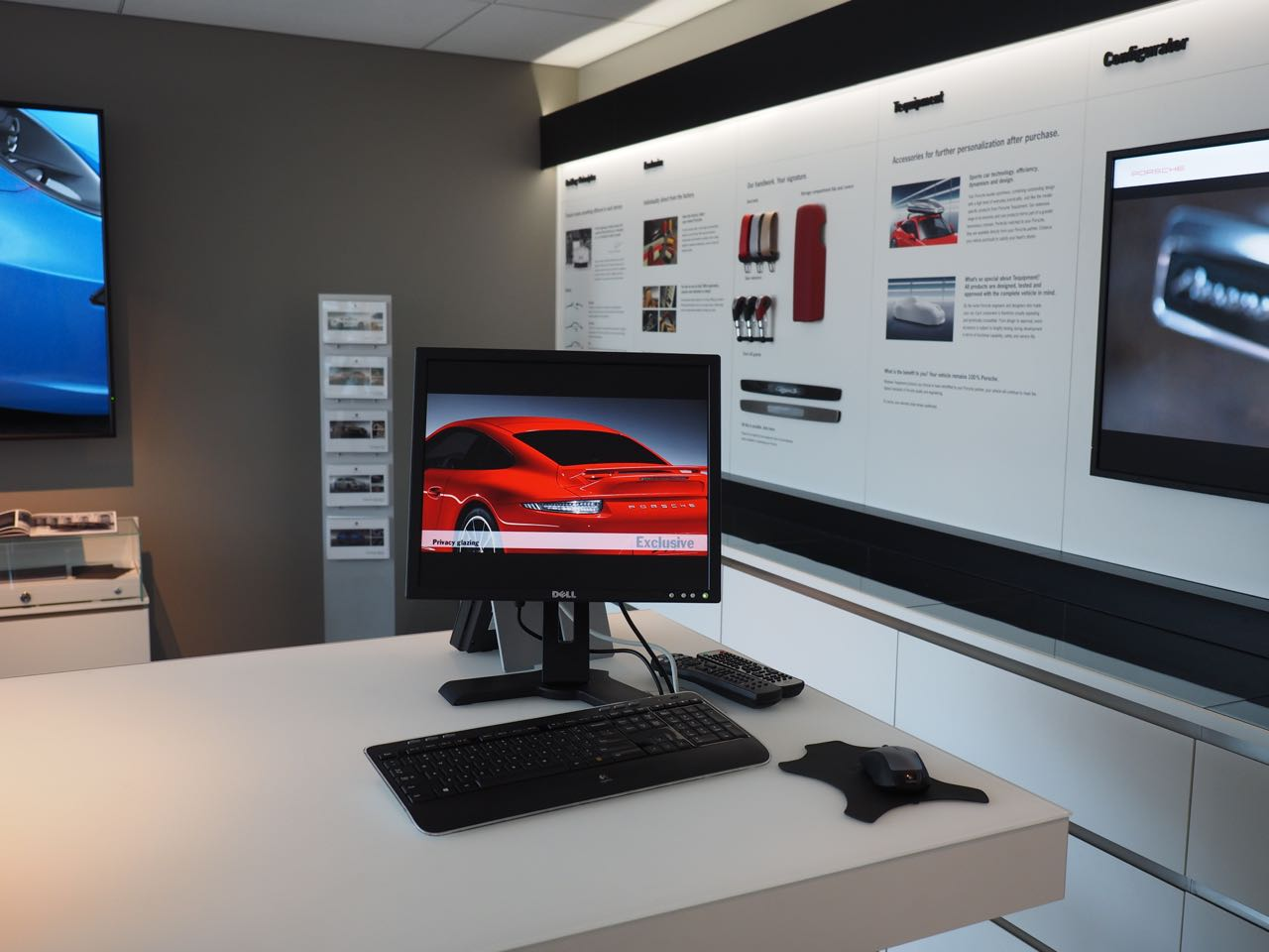 Porsche Design Center - Tequipment In the Porsche Experience Center Atlanta