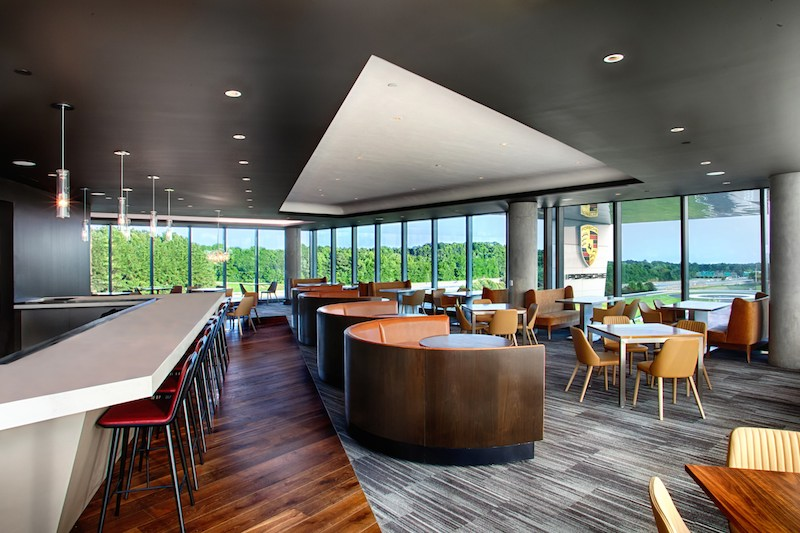 Restaurant 359 at Atlanta Porsche Experience Center
