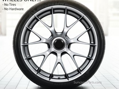 Bet You Can't Guess How Much A Set Of Magnesium Wheels For The Porsche 918 Spyder Cost…