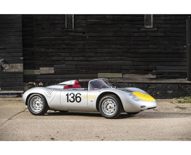 Sir Stirling Moss' Porsche RS61 For sale