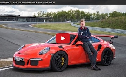 Walter Röhrl: Six Minutes At Full Throttle In a 911 GT3 RS
