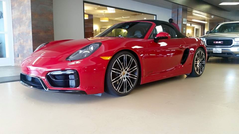 Boxster GTS First Look