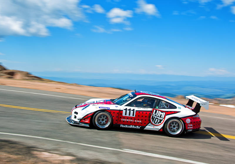 Jeff Zwart on pikes peak 2015