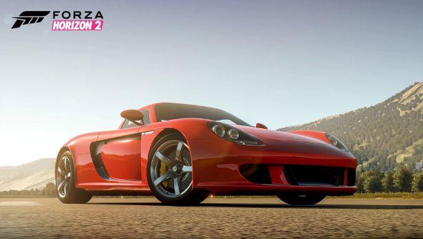 Porsche carrera GT forza 2