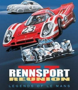 official rennsport reunion v poster