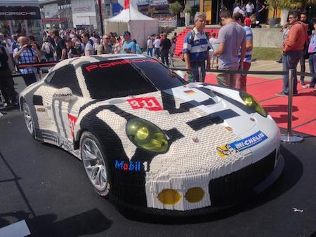 Half Of This 911 RSR Is Made From 380,000 LEGO Bricks ...