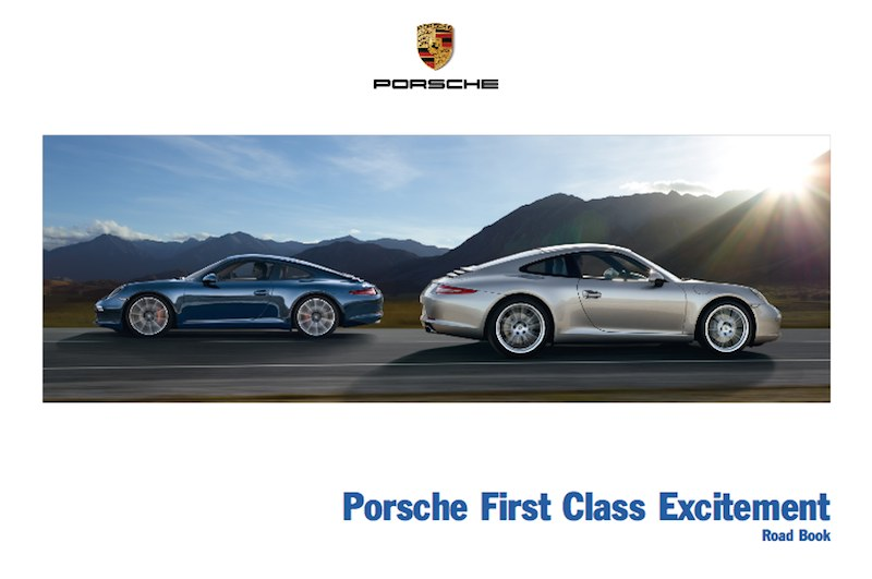 Porsche First Class Excitement Lufthansa
