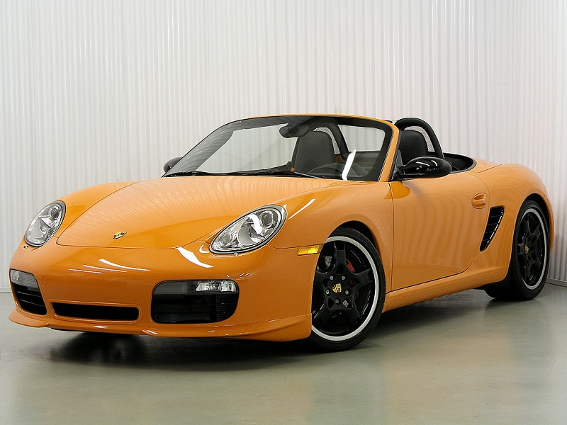 Boxster Orange Edition For Sale