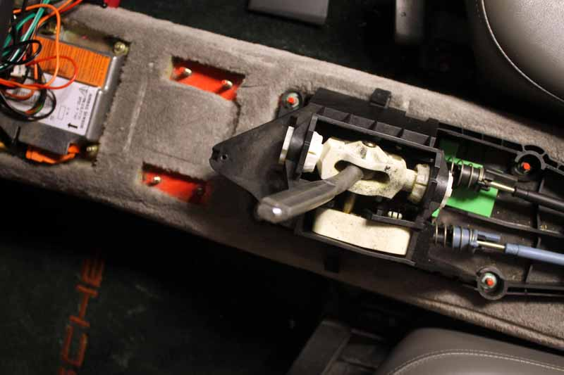 Stock Boxster Shifter Assembly