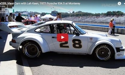 Watch Leh Keen take a Porsche 934.5 on a memorable passing spree during the Rolex Monterey Motorsports Reunion