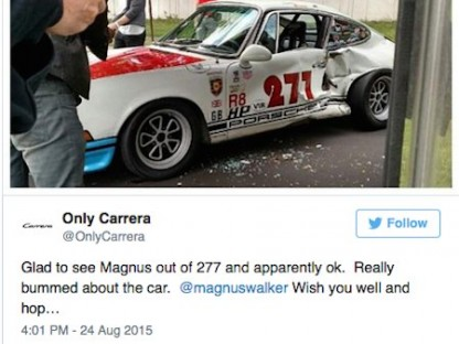 Magnus Walker and #277 In Accident!