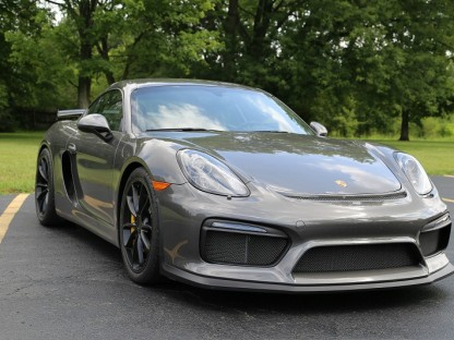 Porsche Cayman GT4 Flogged At The Nurburgring By Pro Driver