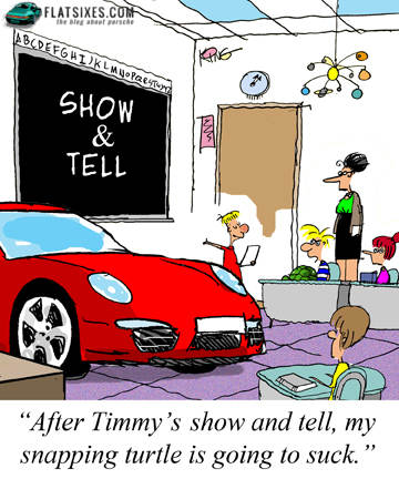 favorite porsche cartoon