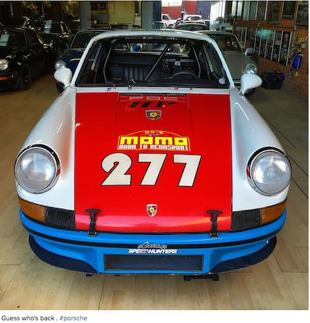 Magnus Walker S 277 Is Back On The Road Flatsixes