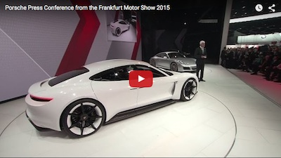 Miss Porsche's Frankfurt Press Conference?  Watch It Here!