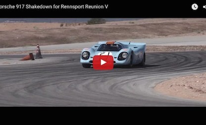 Watch Patrick Long Shakedown This Porsche 917 In Preparation For Rennsport Reunion V
