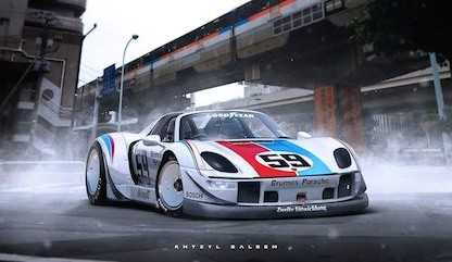 RWB Porsche 918 Rendering Is Excellent Enough To Think Someone Might Just Build It!