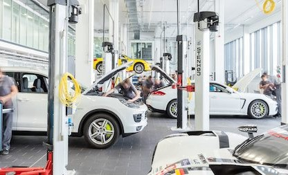 Porsche's New Training Center In Zuffenhausen Is Massive