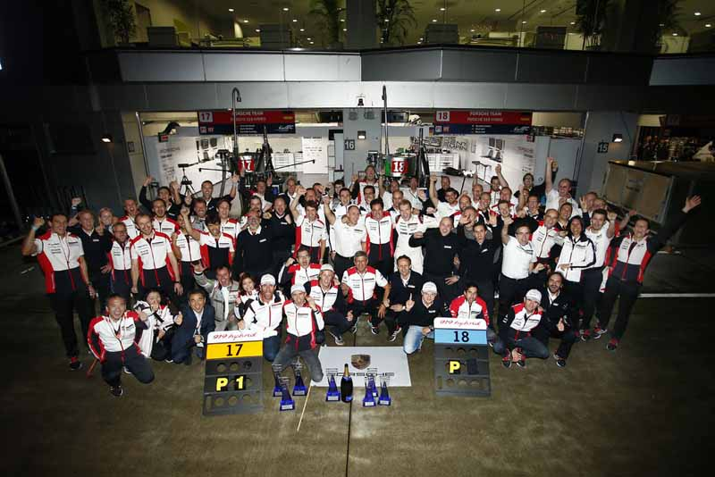 Porsche LMP1 Team Group Shot