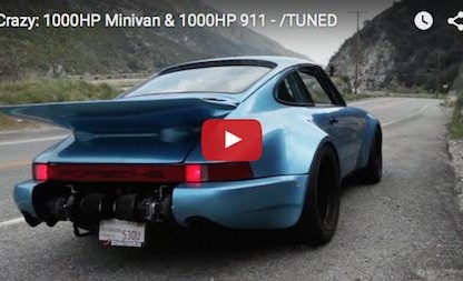 1000HP Porsche Meets A 1000HP Minivan.  Say What?