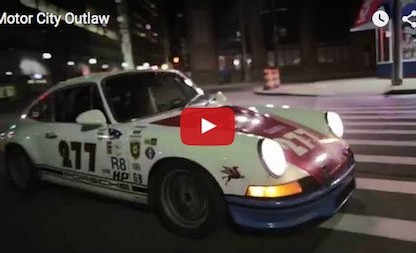 Magnus Walker Motor City Outlaw video