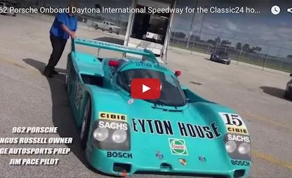 This Is The Line To Take At Daytona In A 962