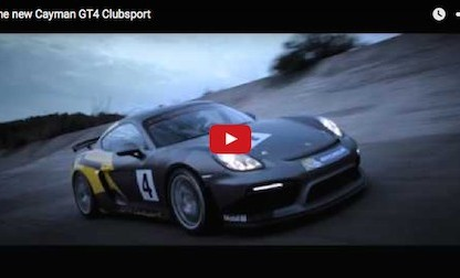 Videos Of The New Porsche Cayman GT4 Clubsport