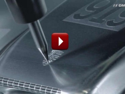 Watch This Highly Detailed Porsche 919 Model Being Machined From A Block Of Aluminum
