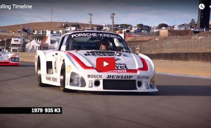 Watch Jeff Zwart's Rolling Timeline Of Porsche Racing History