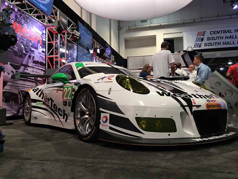 Porsche 911 GT3 R 2016 IMSA Leh Keen Alex Job Racing