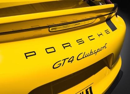 This Is The Porsche Cayman GT4 Clubsport