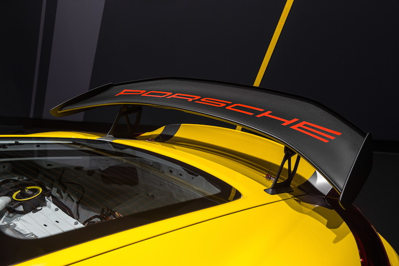 Porsche Cayman GT4 Clubsport rear wing2