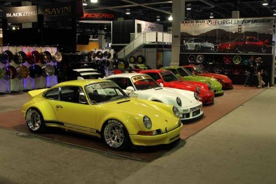 All Of The Porsches At SEMA