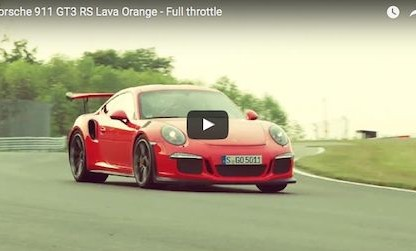 This Video Is All 911 GT3 RS. No Voiceover, No Soundtrack.  Just A Porsche As It's Meant To Be