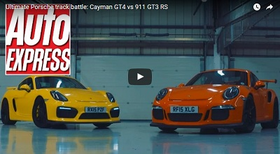 Video: Auto Express Pits GT4 Against GT3 RS, But Which Is More Fun?