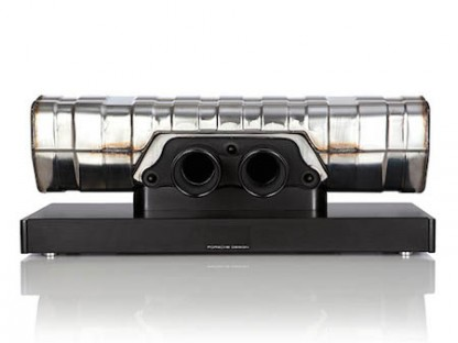 Check Out This Soundbar Constructed From The Exhaust System Of A Porsche 911 GT3