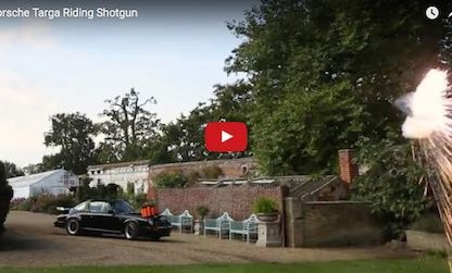 Watch This Guy Go Trap Shooting From Inside a Moving 911
