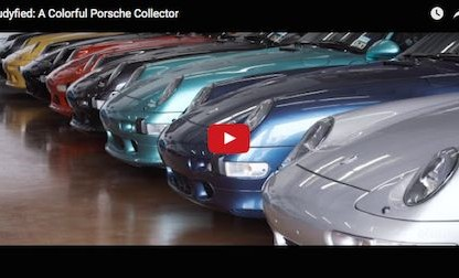 Meet Rudy Mancinas, A Very Colorful Porsche Collector