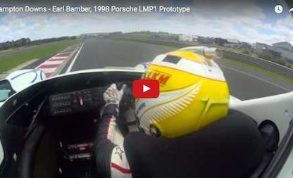 Bring Back The Open Cockpit! Ride Onboard With Earl Bamber In The '98 Porsche LMP1 Prototype