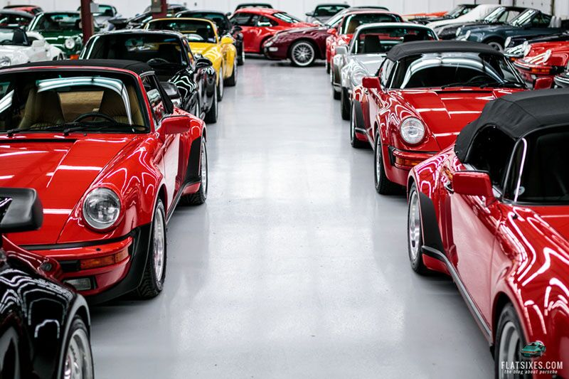 porsche dream garage