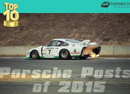 10 Most Popular Porsche Posts of 2015