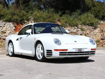 Porsche 959 Komfort for sale during 2016 Paris auction