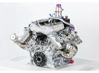 These Are The First Pictures Of The Turbo 4-Cylinder That Powers Porsche's LMP1 919 Hybrid