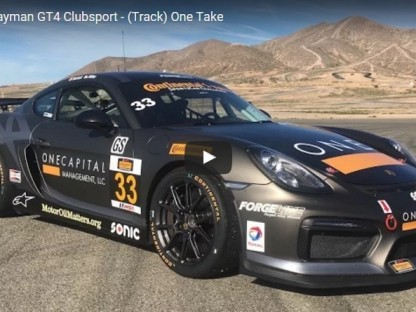 Driving CJ Wilson Racing's Cayman GT4 Clubsport At Streets Of Willow