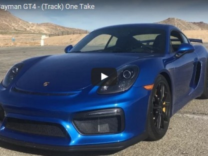 Matt Farah Takes CJ Wilson's Cayman GT4 For A Spin At Streets Of Willow