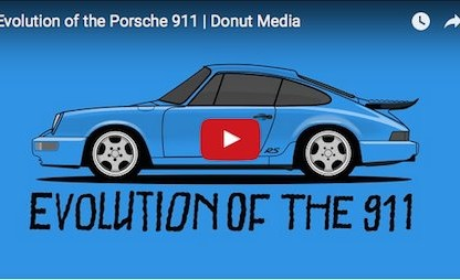 This Illustrated Animation Of The Porsche 911 Is Brilliantly Done