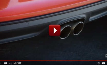Porsche 718 Boxster exhaust sound